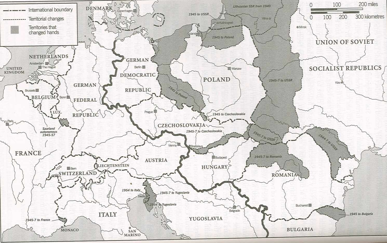History 464 europe since 1914 unlv east central europe in 1942 territorial changes 1945 1 gumiabroncs Gallery