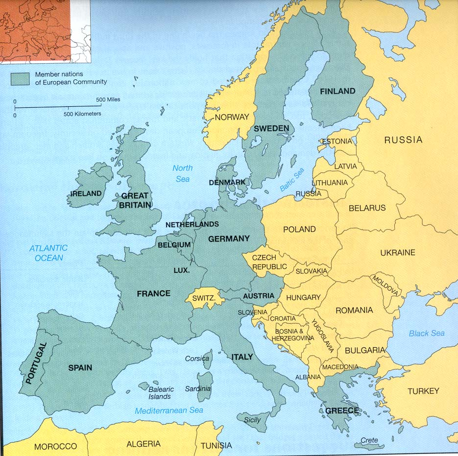 History 106 (UNLV) MAP OF EUROPE QUIZ